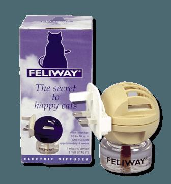Feliway, para el celo en gatos