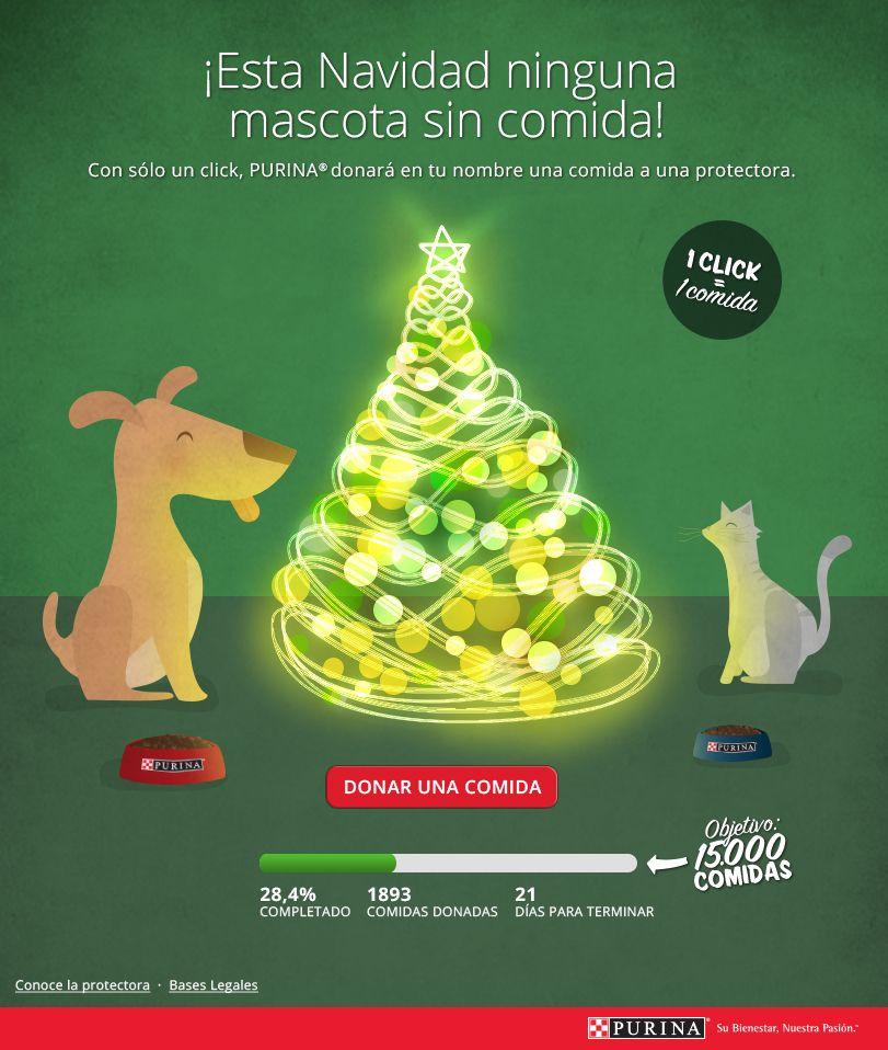 PURINA- App ¡Esta Navidad ninguna mascota sin comida!