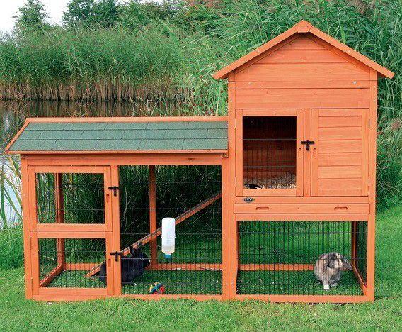 Jaulas de jardín para conejos