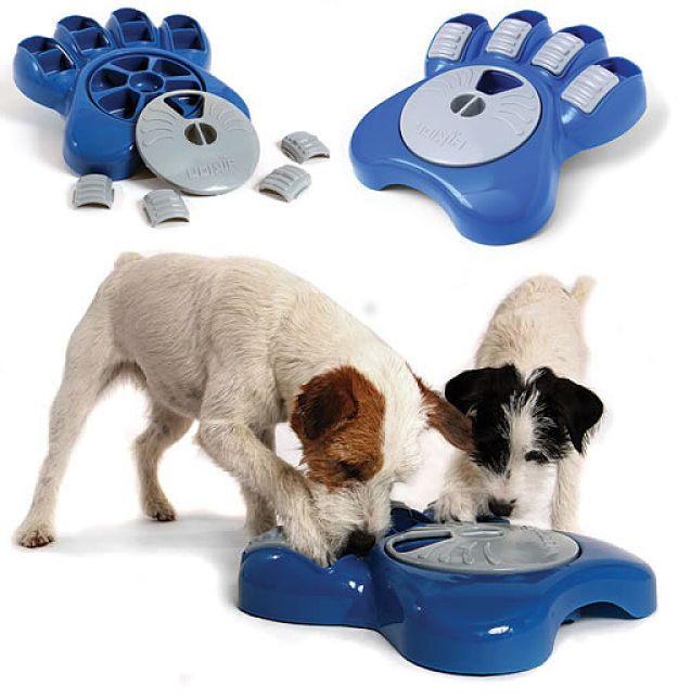 Comedero para perros - Jugar comiendo
