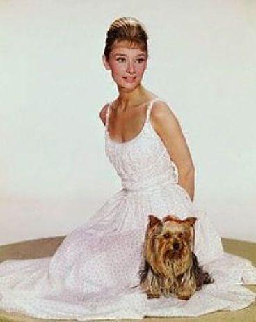 Aydrey Hepburn con Mr Famous